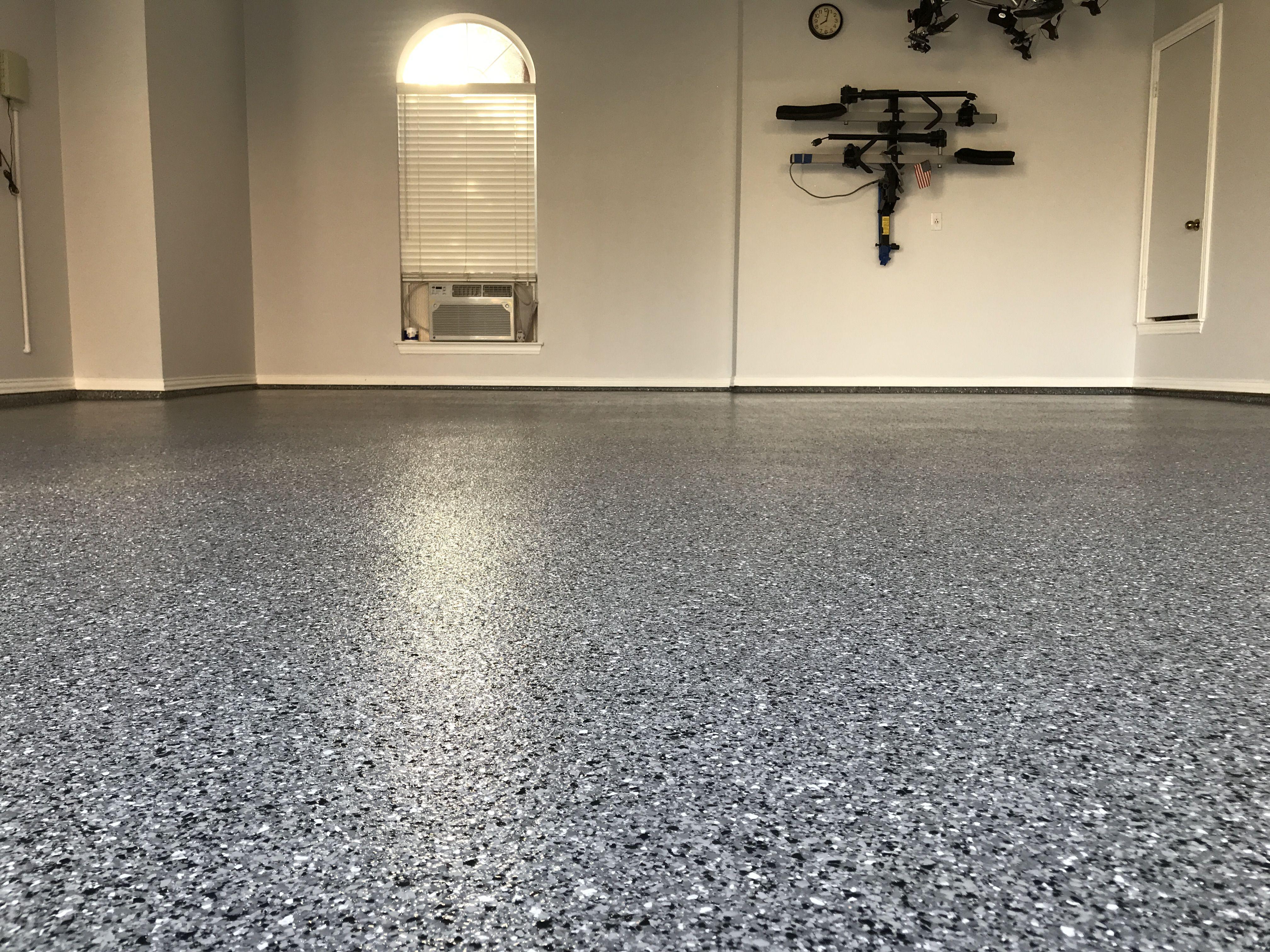 Classic Marble White Polyaspartic Epoxy Garage Floor Garage Floor Epoxy Garage Floor Flooring Contractor