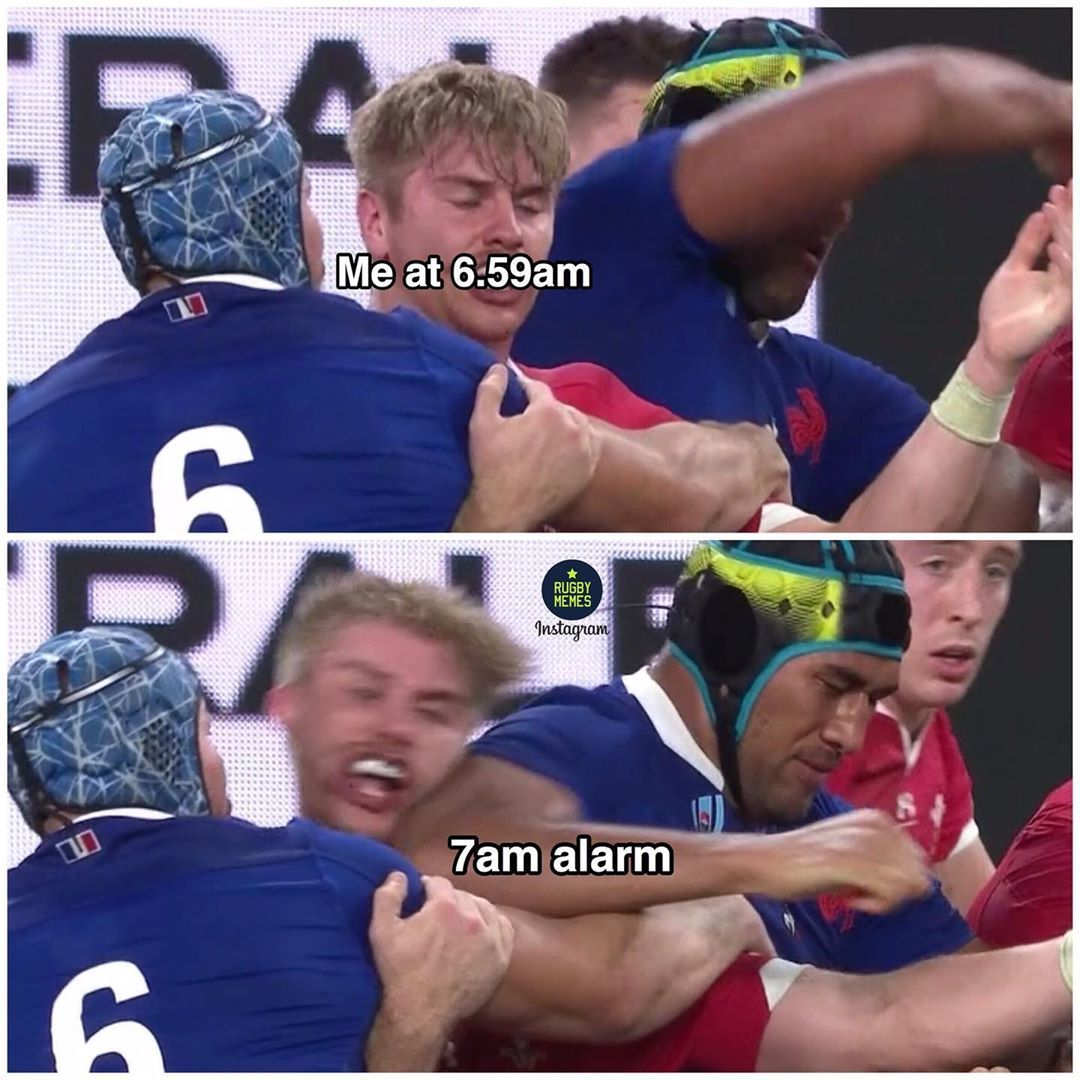 We Are Rugby Memes On Instagram Monday Rugby Wales France Rugbyworldcup Rugby Memes Sports Memes Memes