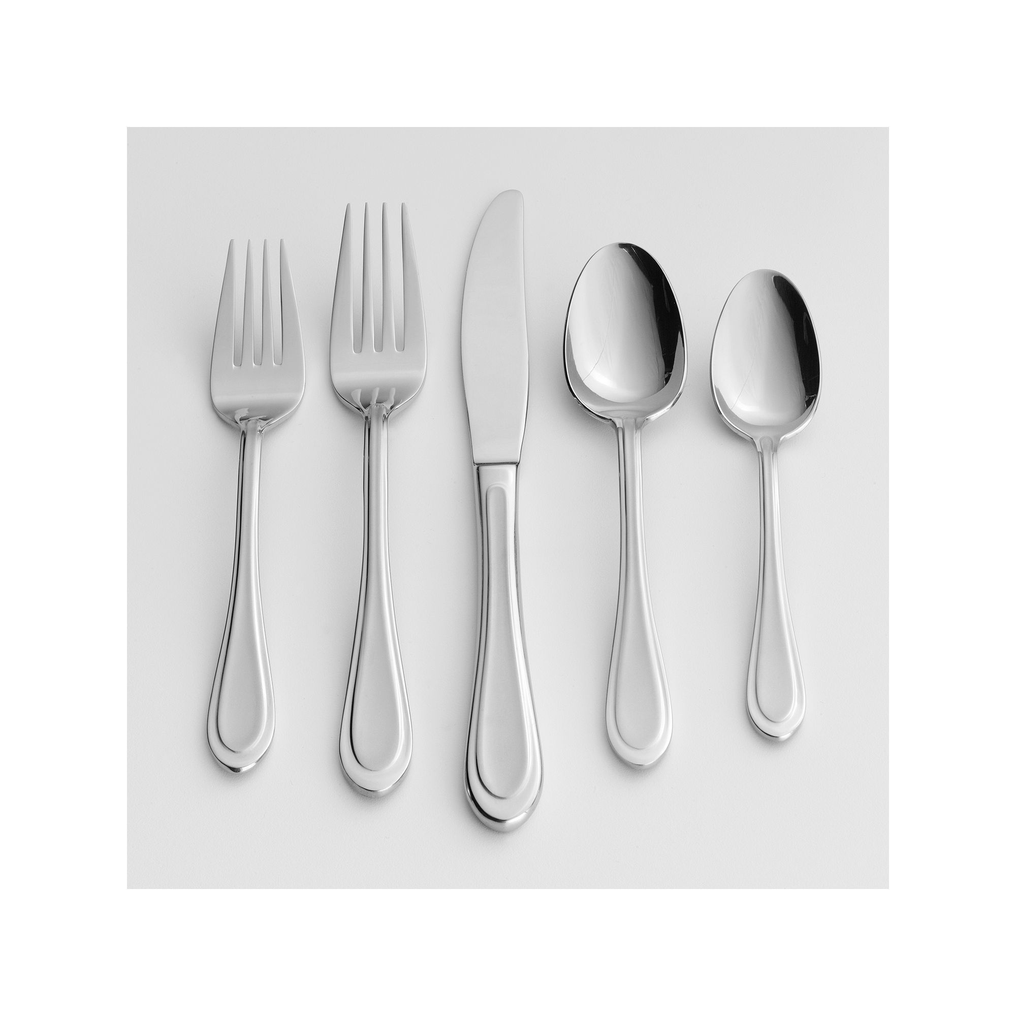 Oneida Joann 20-pc. Flatware Set, Grey