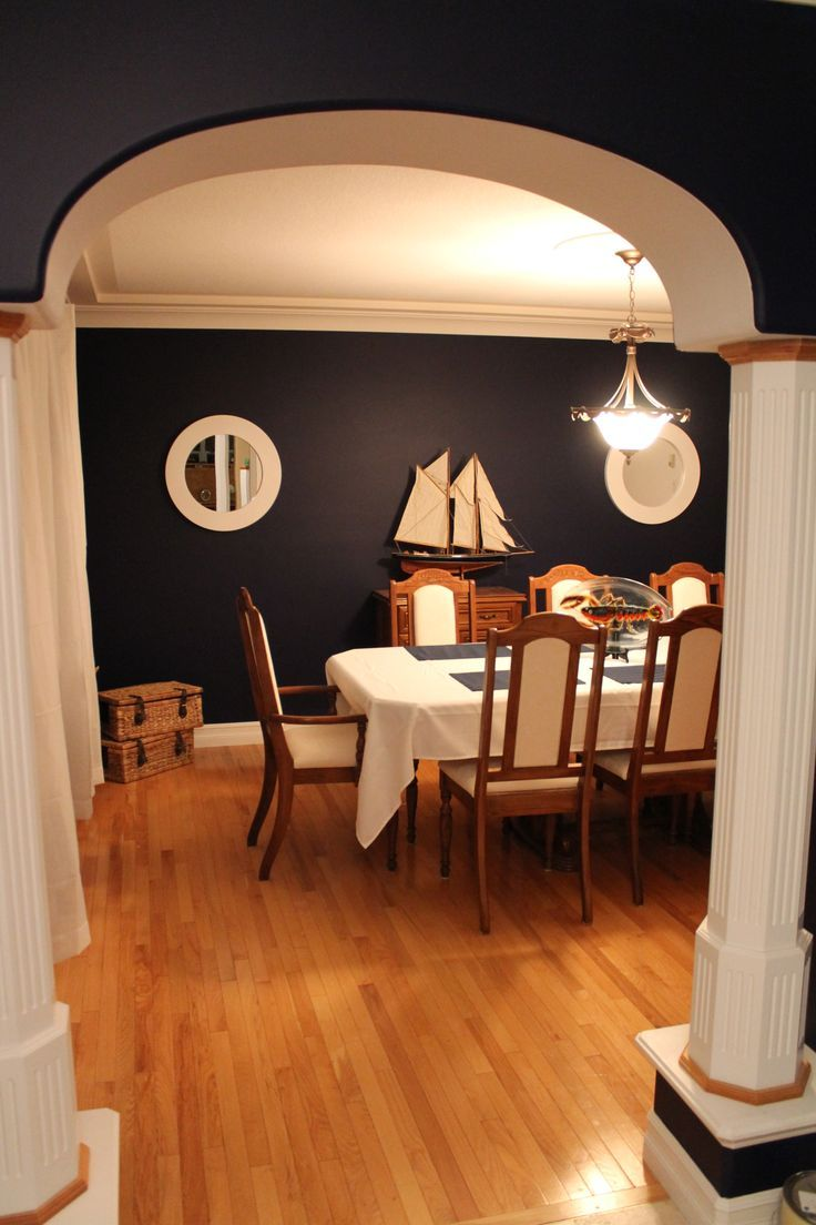 Nautical Dining Rooms In Wonderful Design Stunning Room Inspiration With Wooden Boat