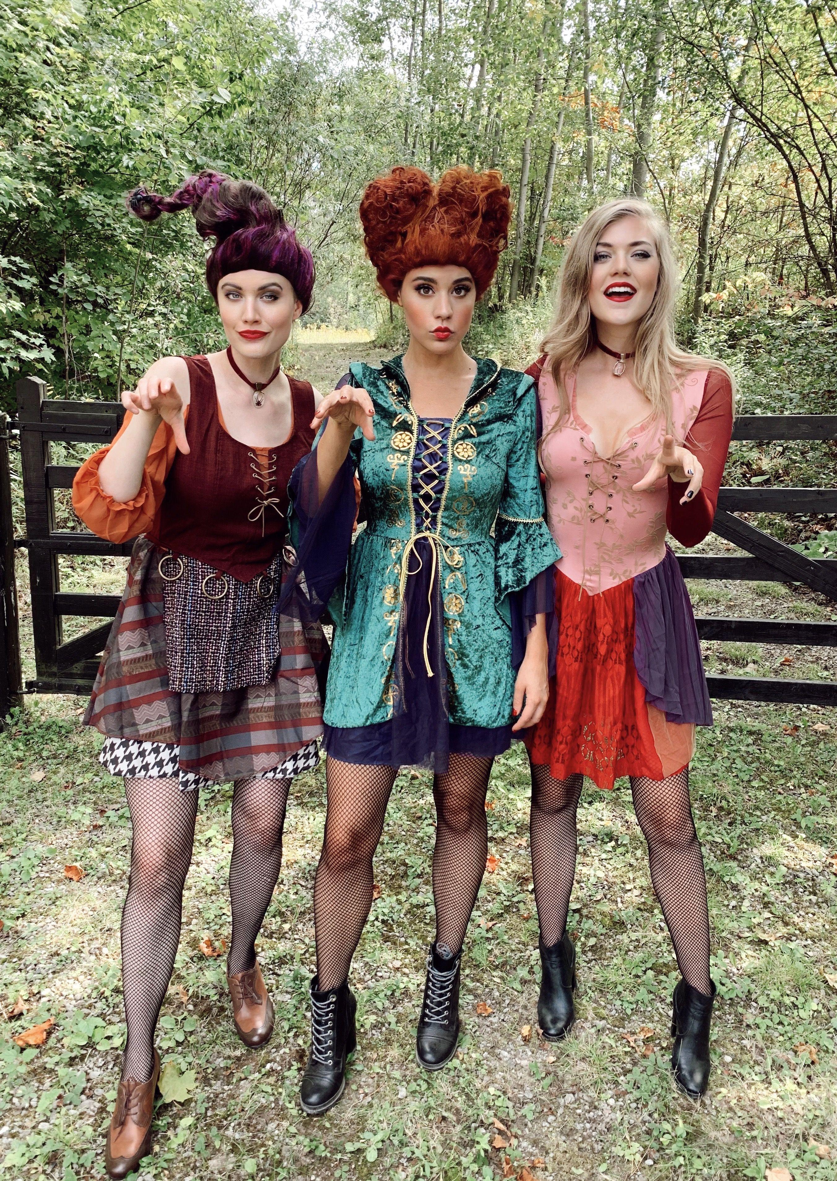 Sister Halloween Costumes 2020 Sanderson Sisters Halloween Kostüm | Sister halloween costumes