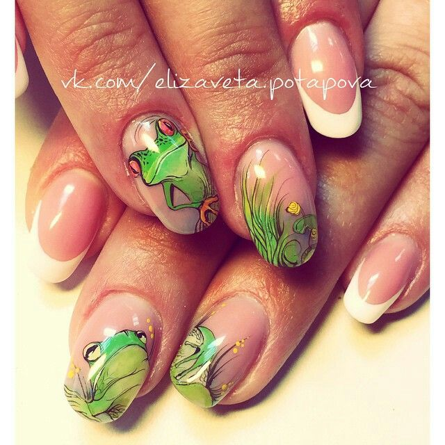 Frog Nail Art: Frogs, Nail Art