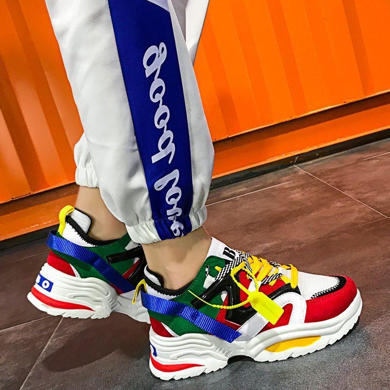 Harajuku multicolor sport shoes