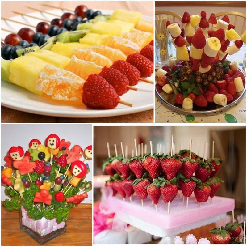 Frutas decoradas para baby shower bbydream pinterest for Secar frutas para decoracion