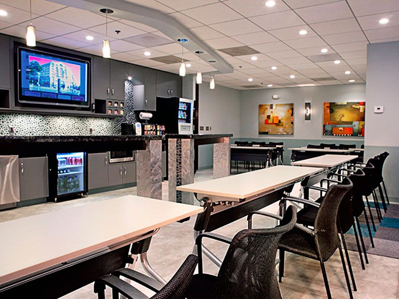 Employee Break Room Furniture Ofwllc Com Office Break Room Corporate Office Design Room Redesign