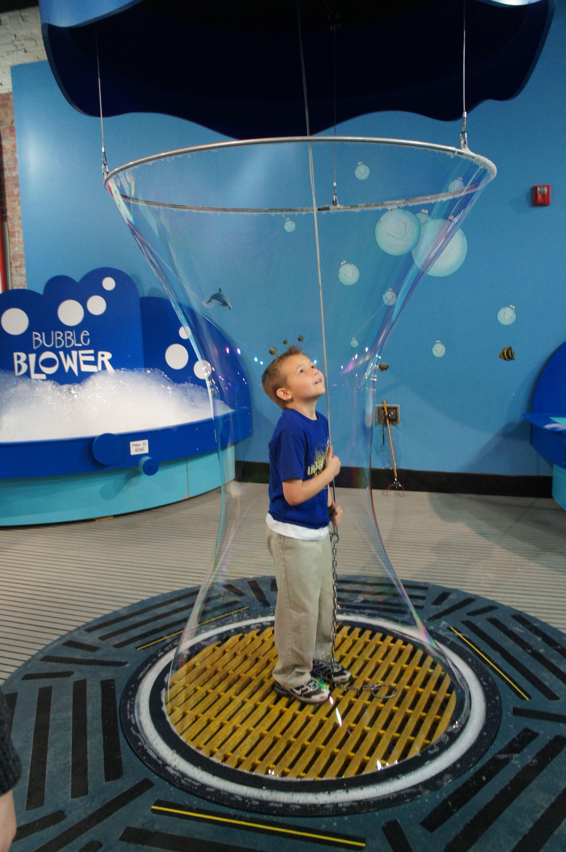 Exhibition Stand Interactive Ideas : Build a bubble discovery center hammond la