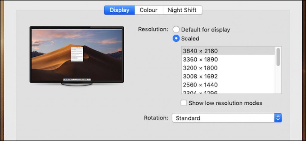 How To Select An Exact Display Resolution On Your Mac Display Resolution Resolutions Display