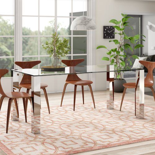Metro Lane Dining Table Minimalist Dining Room Dining Table