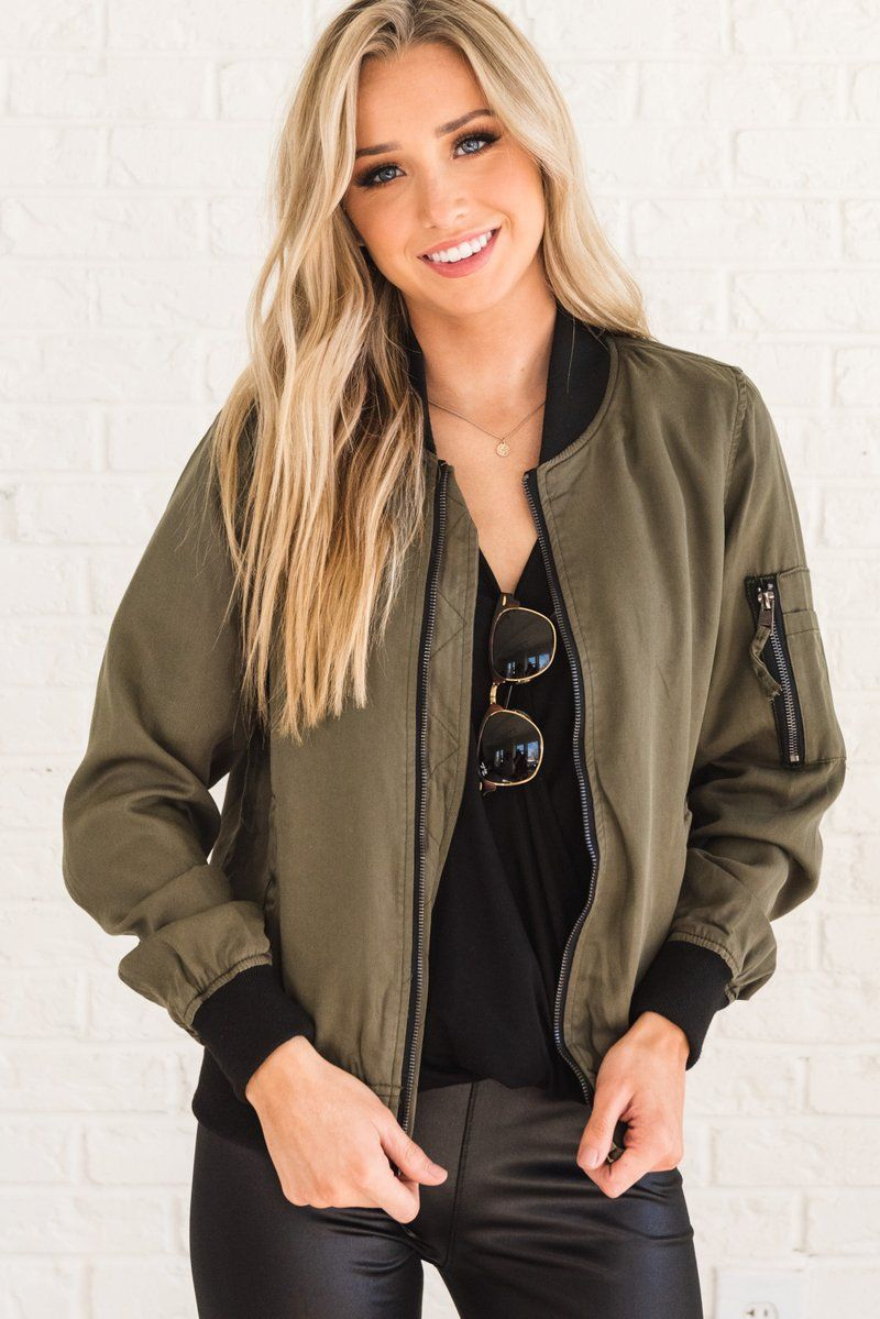 Weekend Vibes Olive Green And Black Bomber Jacket Green Bomber Jacket Black Bomber Jacket Bomber Jacket [ 1199 x 800 Pixel ]