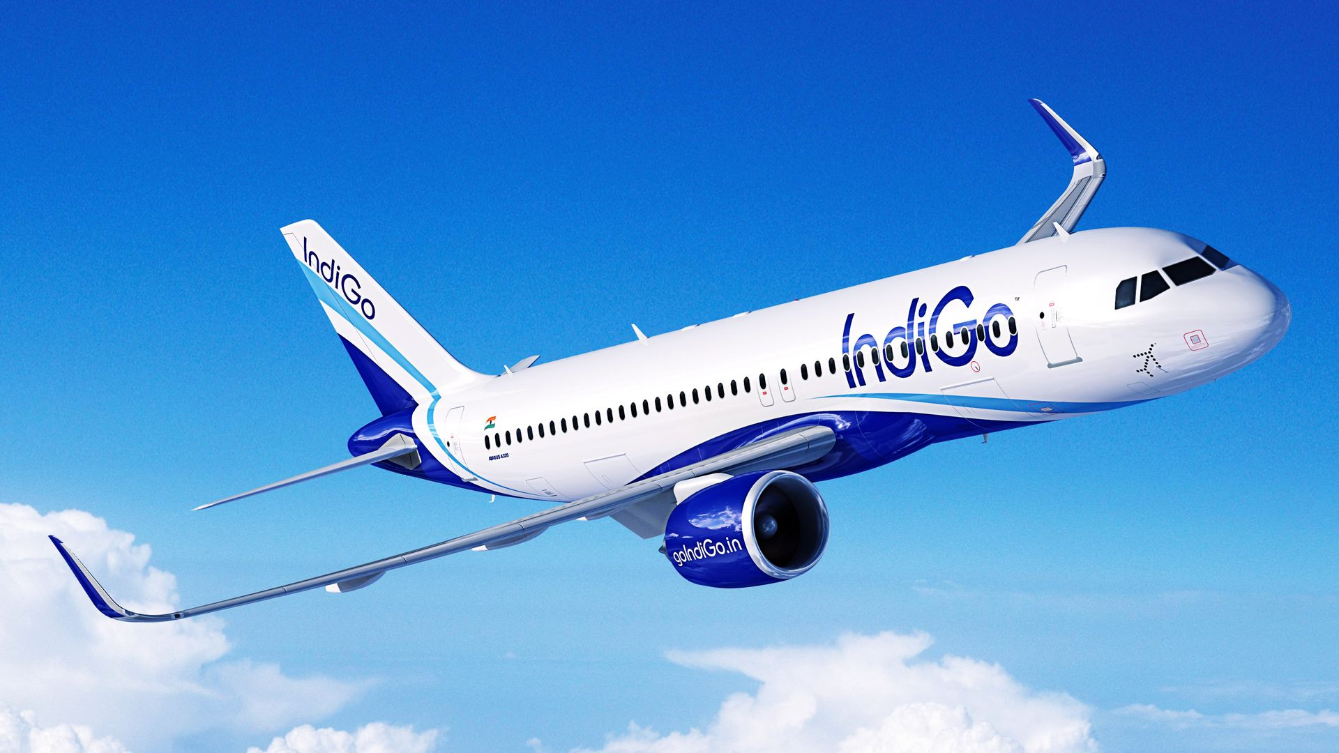 Among the leading private airlines, IndiGo Airlines take