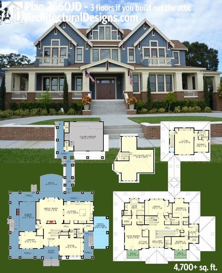 8000 Sq Ft House Plans 5000 Sq Ft Ranch House Plans Lovely 6000 Sq Ft House Plans Luxury House Plans House Plans Garage House Plans