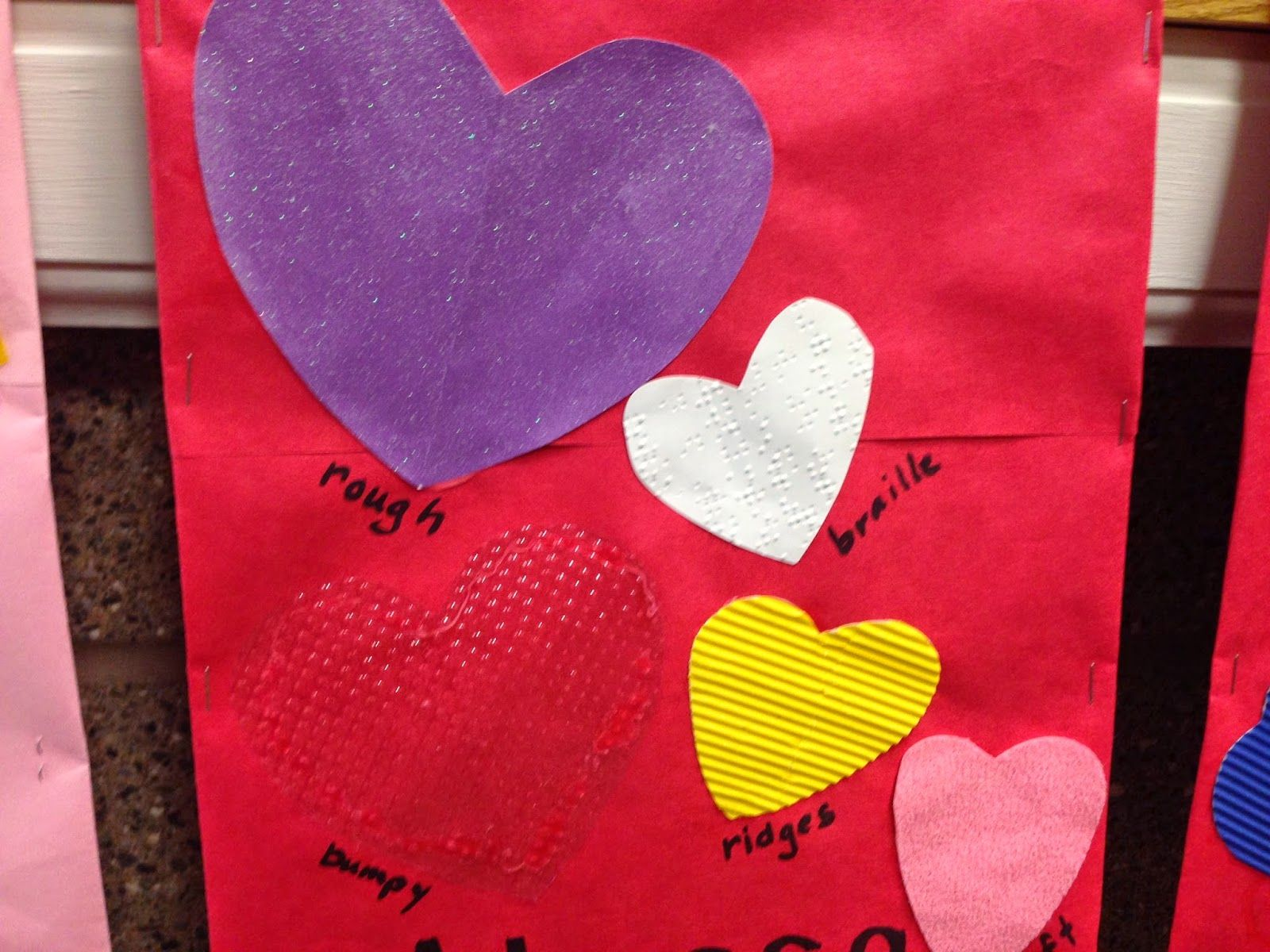 Make Quick And Easy Tactile Hearts With Your Students For Valentines
