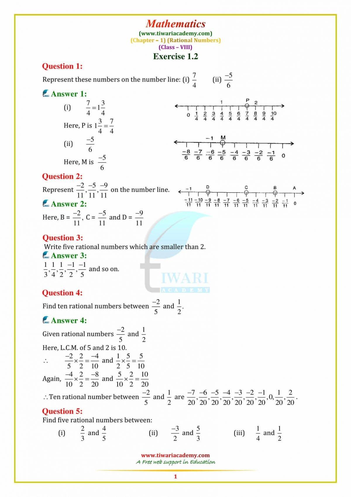 Https Www Tiwariacademy Com Ncert Solutions Ncert Solutions Class 8 Maths Chapter 1 Math Rational Numbers Class 8 [ 1698 x 1200 Pixel ]
