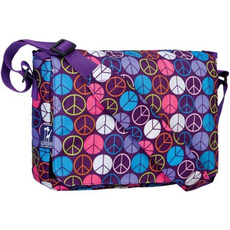 8924d202c1 Free 2-day shipping on qualified orders over  35. Buy Wildkin Peace Signs  Kickstart Messenger Bag at Walmart.com