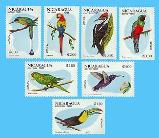 Nicaragua Stamp, 1981 Bird Stamp