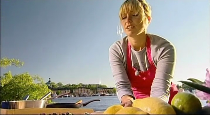 Tina Nordstrom This Girl Does Some Cool Stuff I Just Watched An Episode From Her Show New Scandinavian Cooking Where She Went Ice Fishing And Then Cooked