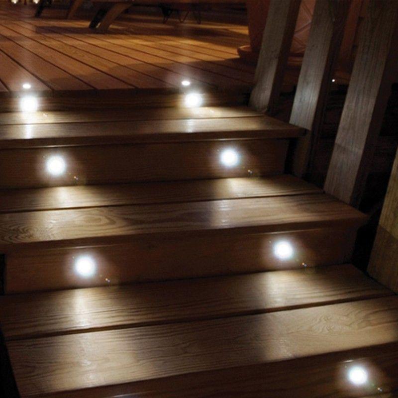 Edinburgh solar led deck lights set of 8 4999 garden design edinburgh solar led deck lights set of 8 4999 mozeypictures Images
