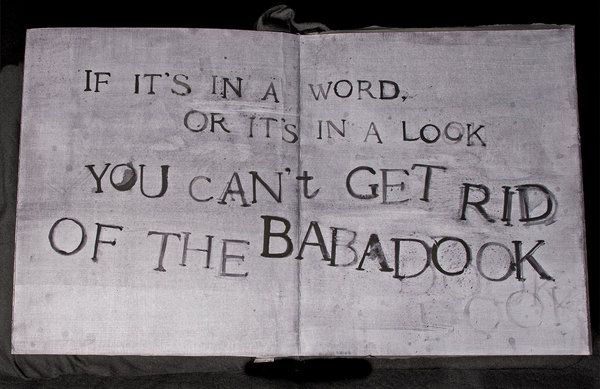 Inside The Horror Pop Up Book In Babadook
