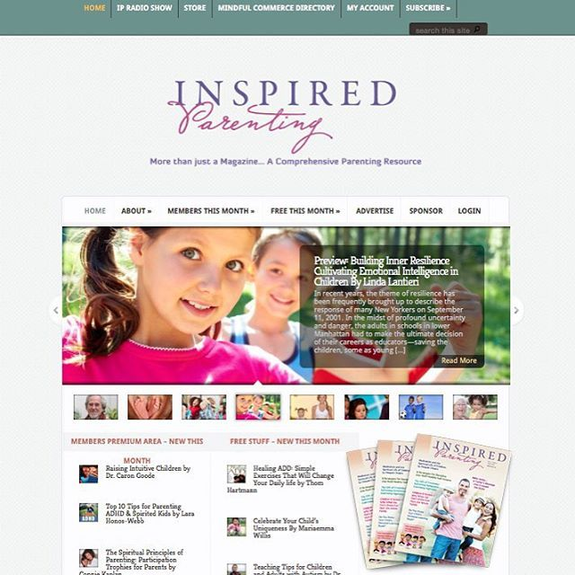We're LIVE! Please visit our @inspiredparenting facebook fan page & like us! http://www.inspiredparentingmagazine.com #preparetobeinspired