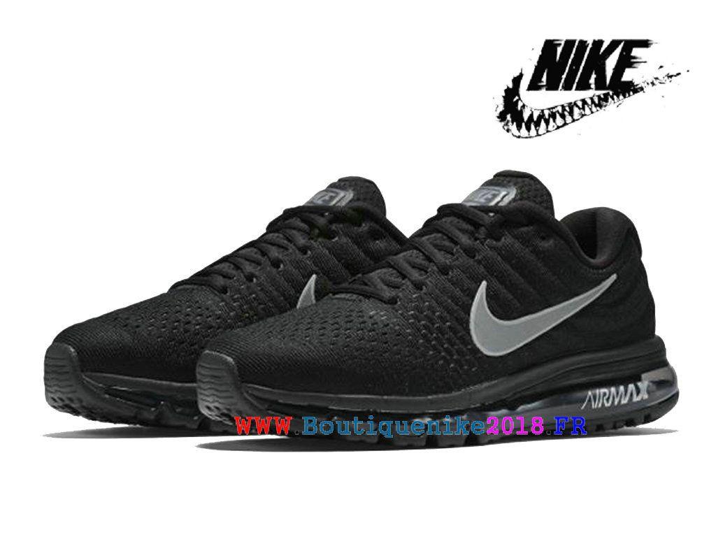 super cute 837e0 d7442 Nike courir Nike Air Max 2017 Paniers de sport en uranium Femmes Argent noir  849559 001