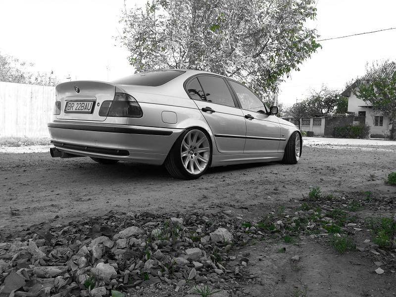 BMW E46 3 series b&w