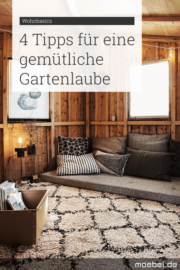 Photo of So wird die Gartenlaube gemütlich | moebel.de