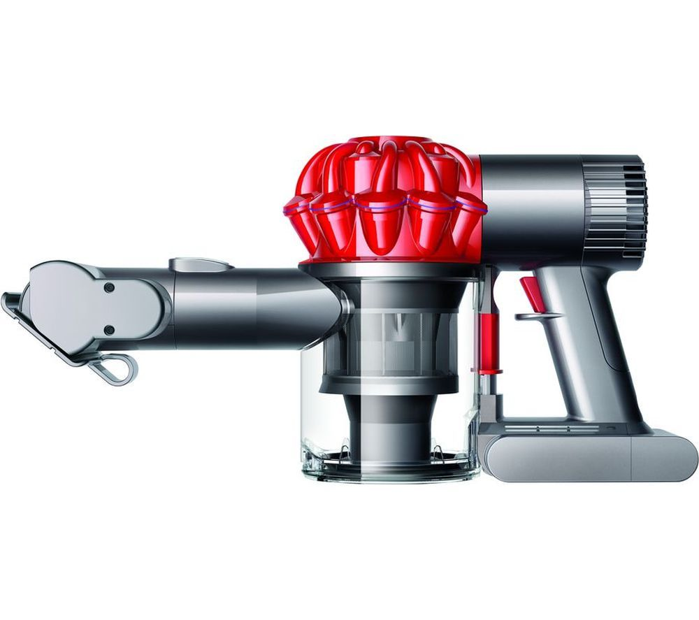 DYSON V Car Boat Extra Handheld Vacuum Cleaner Red Iron