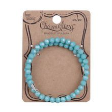 Charmalong™ Turquoise Crystal Bracelet By Bead Landing®
