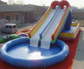 Giant Paddling Pool Swimming Pool Slides Inflatable Swimming Pool Inflatable Water Slide