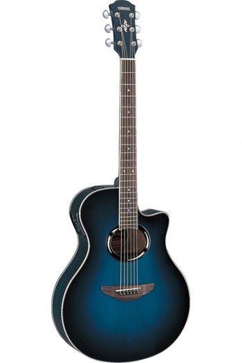 Yamaha Apx500iii Electo Acoustic Guitar Oriental Blue Guitar Acoustic Guitar Yamaha Acoustic Guitar