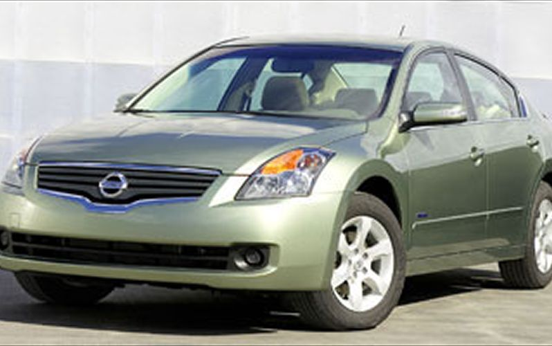 Green Nissan Altima 2006 Nc Charlotte Nissan Have A