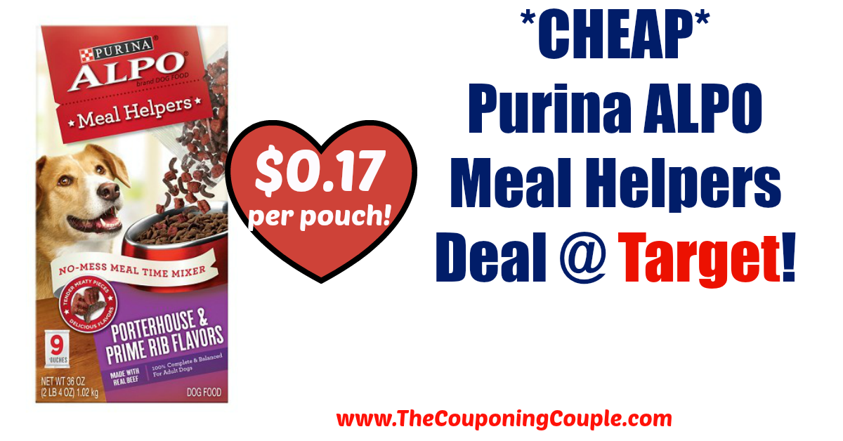 AWESOME DEAL!!!! *CHEAP* Purina ALPO Meal Helpers Deal @ Target!  Click the link below to get all of the details ► http://www.thecouponingcouple.com/cheap-purina-alpo-meal-helpers-deal-target/ #Coupons #Couponing #CouponCommunity  Visit us at http://www.thecouponingcouple.com for more great posts!