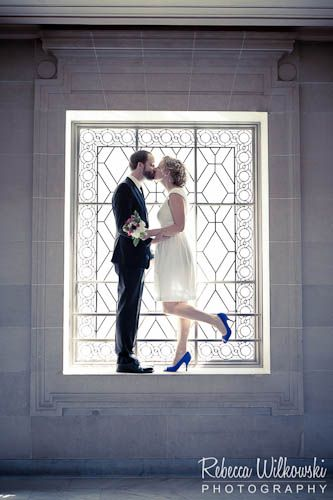 even a city hall wedding presents opportunity for any creative photographer