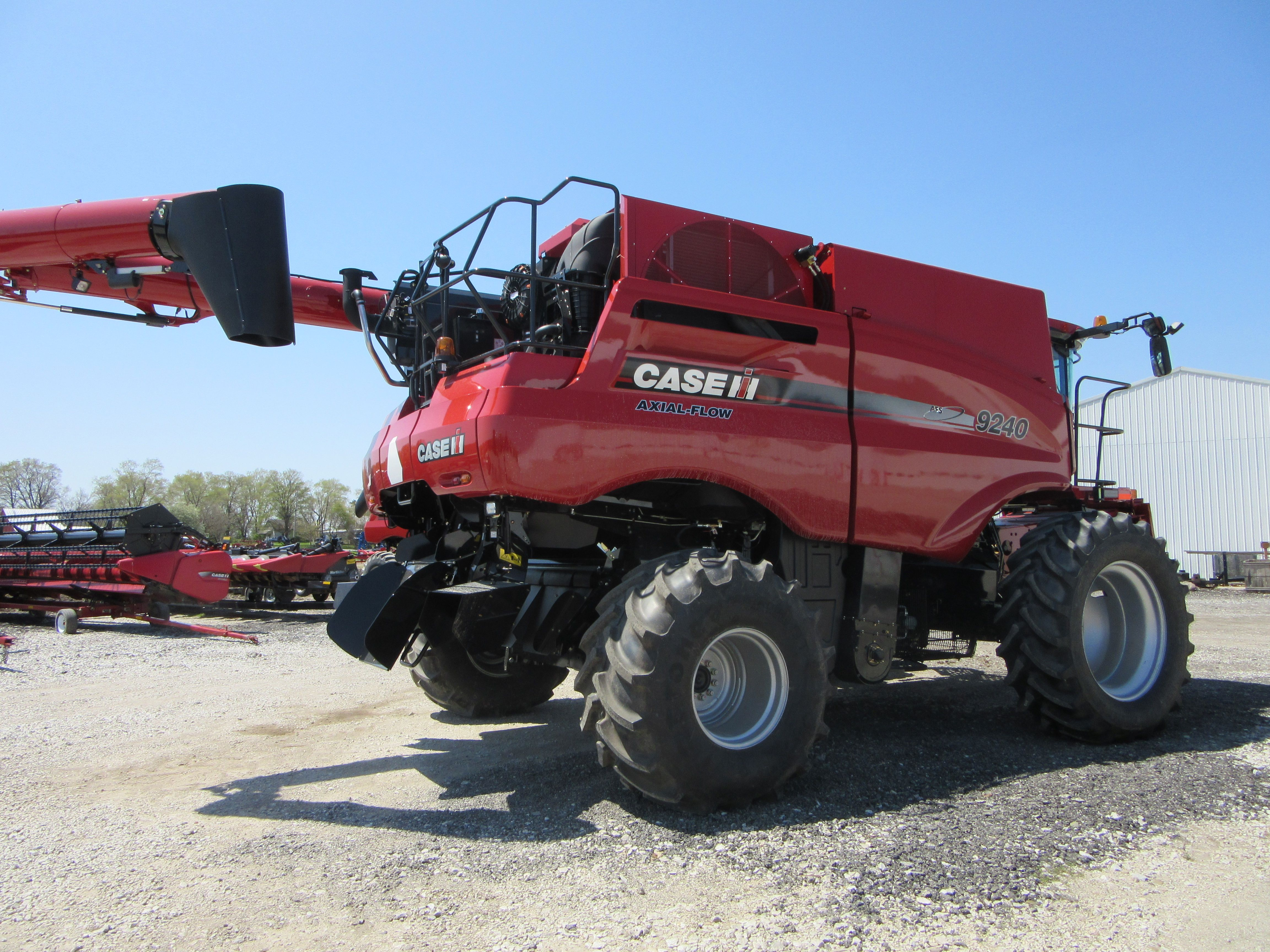 Case International Harvester : Caseih axial flow equipment pinterest