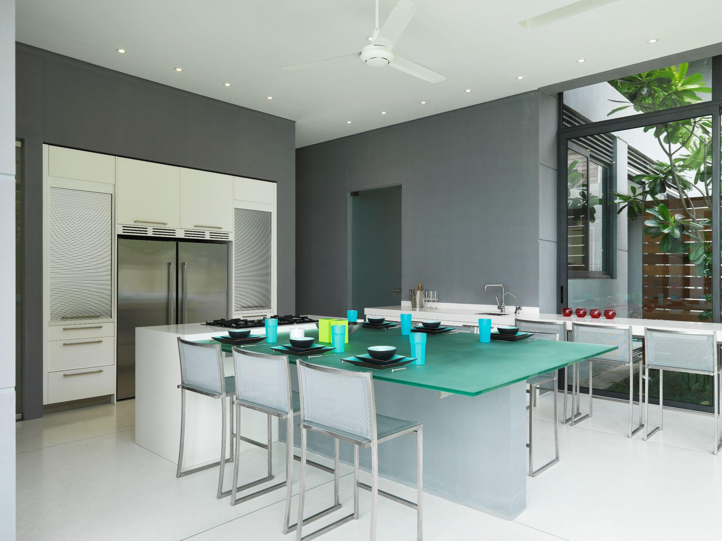 Dinning room in the villa | Paresa | Pinterest | Villas