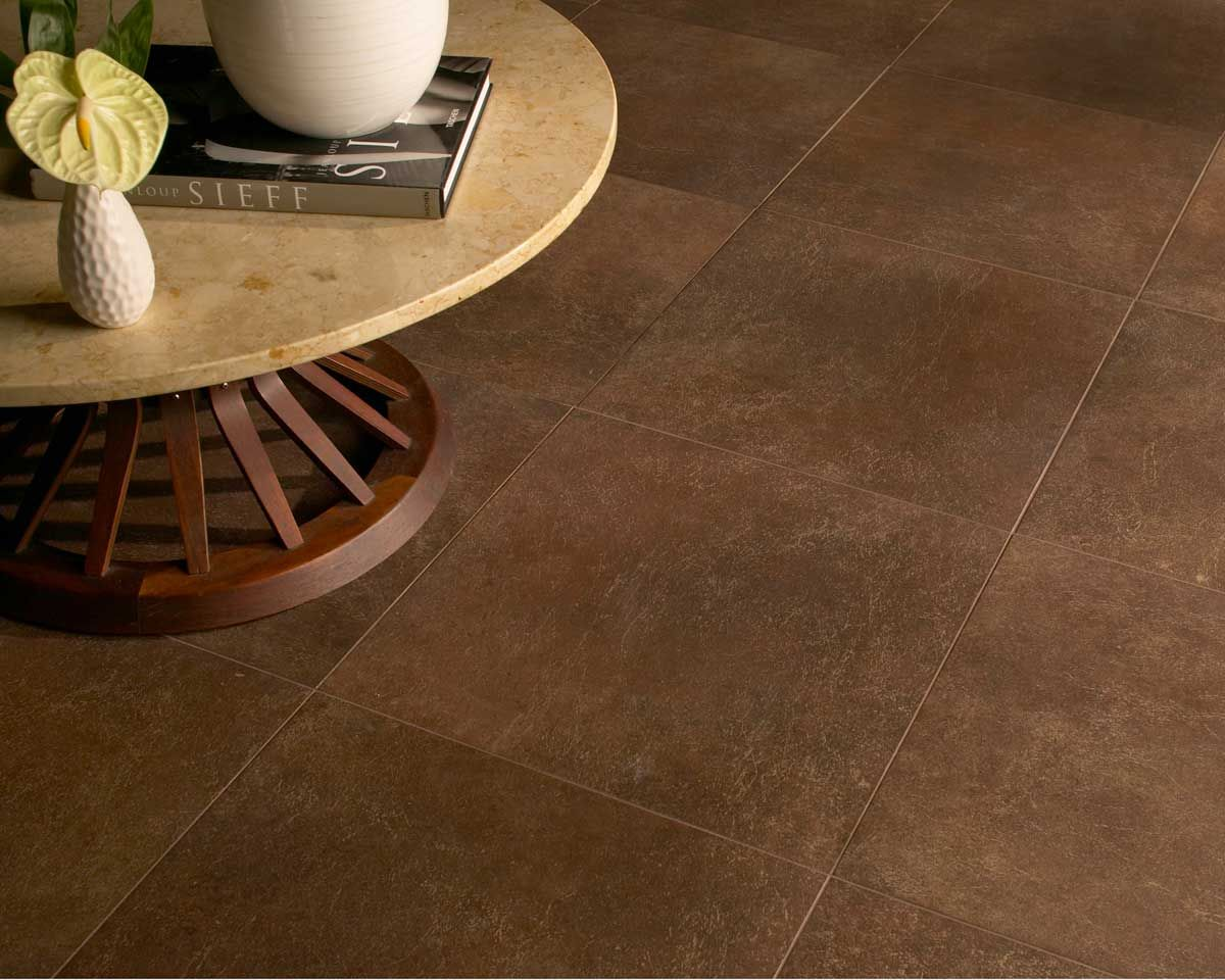 Decorative Tile Trim Pieces Daltile Offers The Look Of Worn Leather In Five Rich Earth Tones