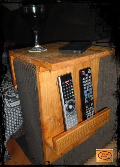 Porta Copos E Controle Para Sofa Madeira No Elo7 Projeto Pallet 4d88e6 Sofa De Madeira Porta Copos Copo Madeira