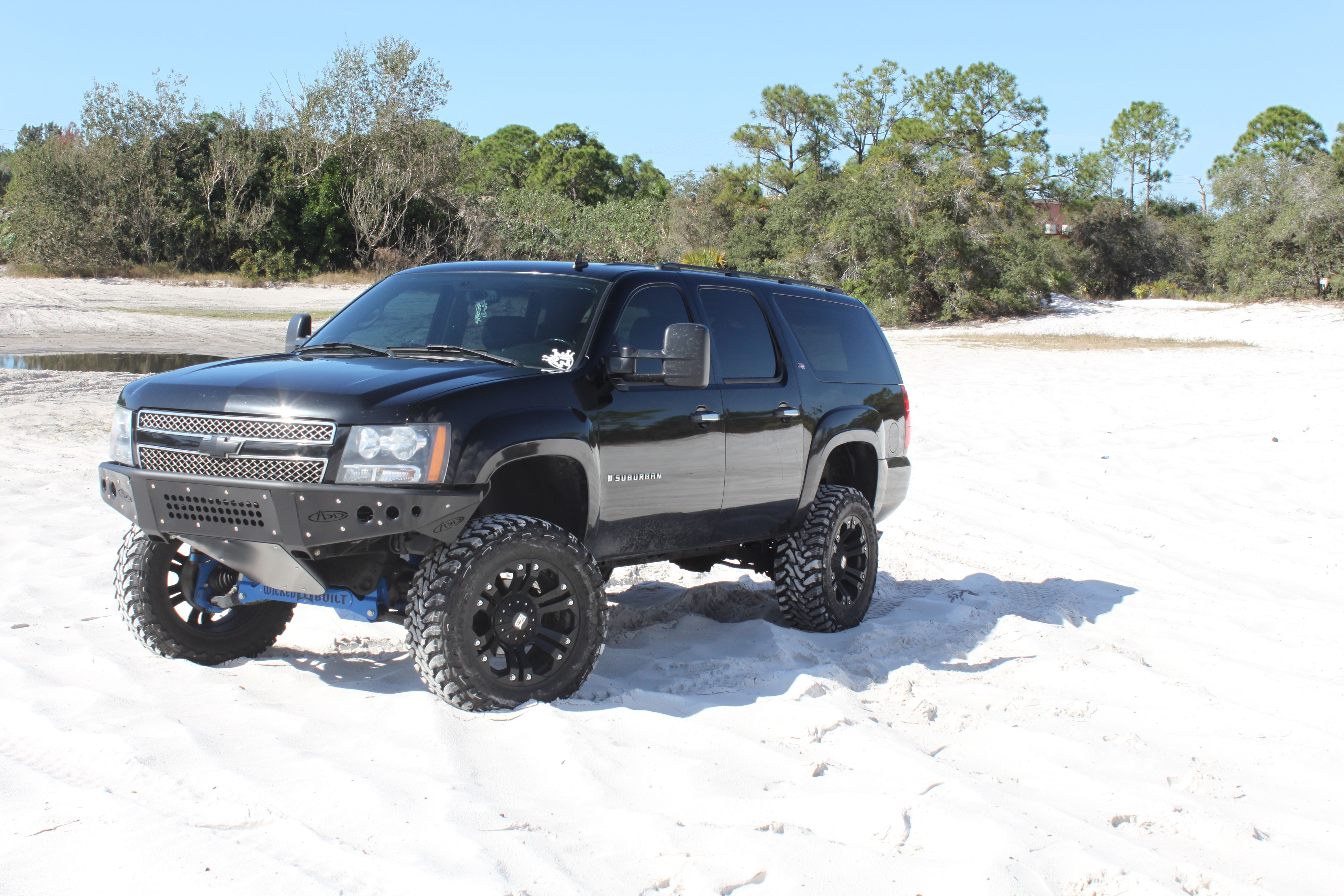 2007 2014 Chevy Tahoe Suburban Avalanche Stealth Front Bumper