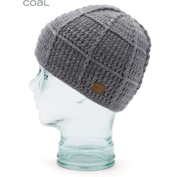 99cd7e983b3 Coal Beanies Coal Hectare Skull Beanie Hat - Grey ( 30) ❤ liked on Polyvore