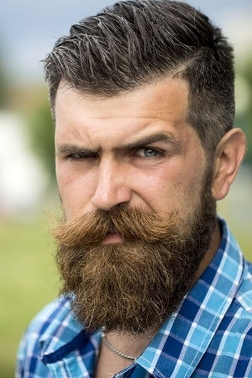 80 awesome inspirations men short beard and mustache style