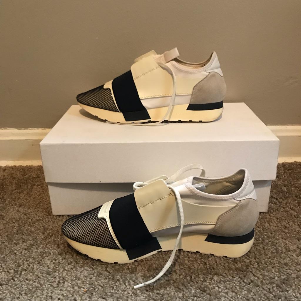 Balenciaga race runner sneakers size