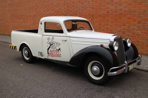 Mercedes benz 170 ds pick up for sale 1953 commercial for Mercedes benz 170 ds for sale