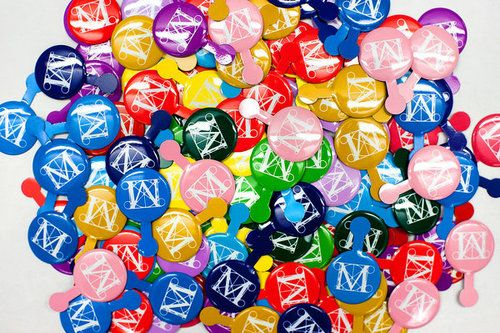 rip met buttons