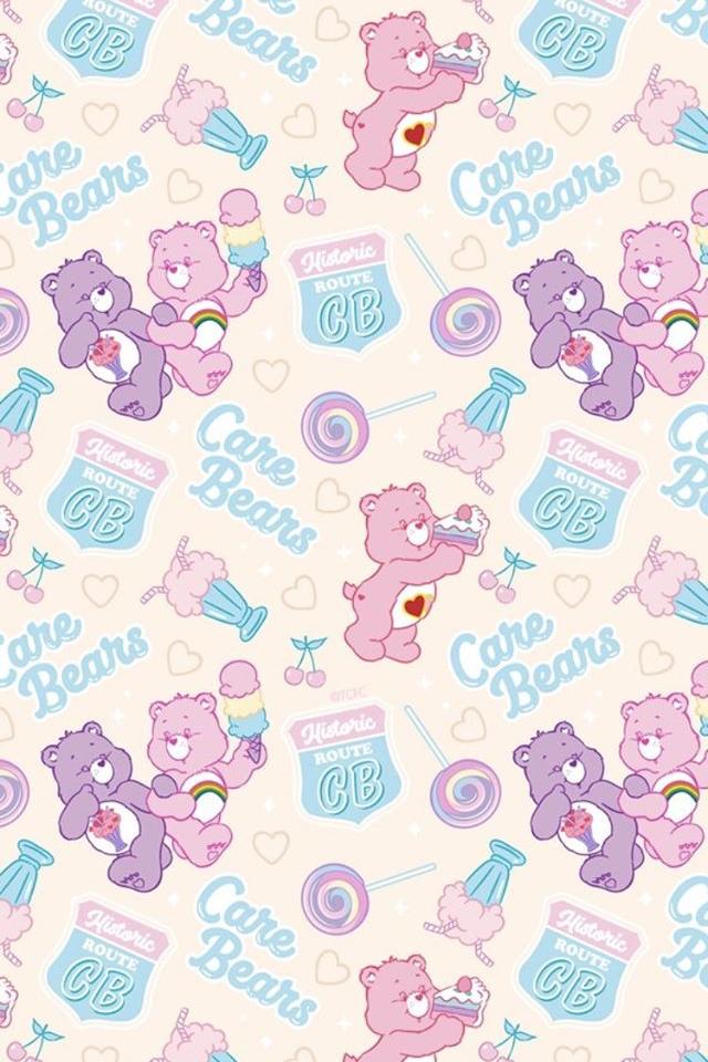 Care Bears Wallpaper Bear Wallpaper Cute Patterns Wallpaper Cartoon Wallpaper Iphone