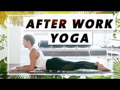 Yoga Ganzkörper Flow | Verspannungen im oberen Rücken lösen | Entspannt in de…