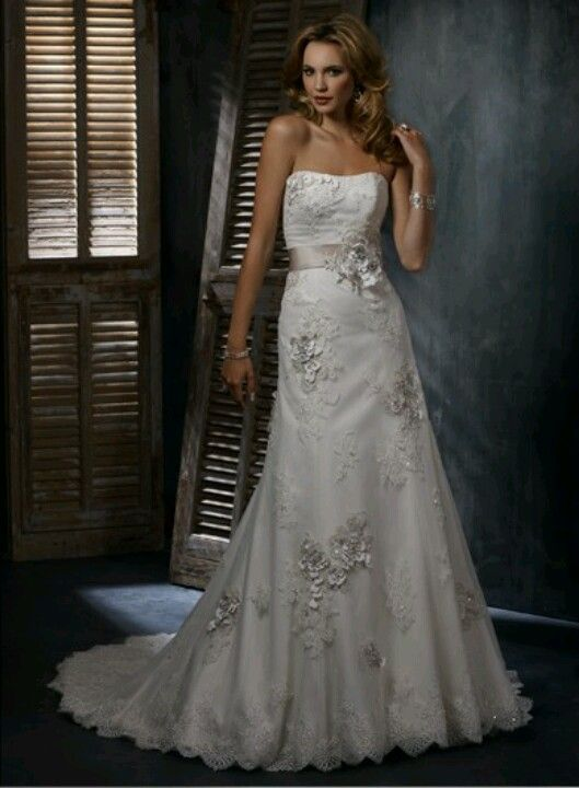 Gorgeous wedding dress!! | MI ALMA AL DESNUDO | Pinterest | Wedding ...