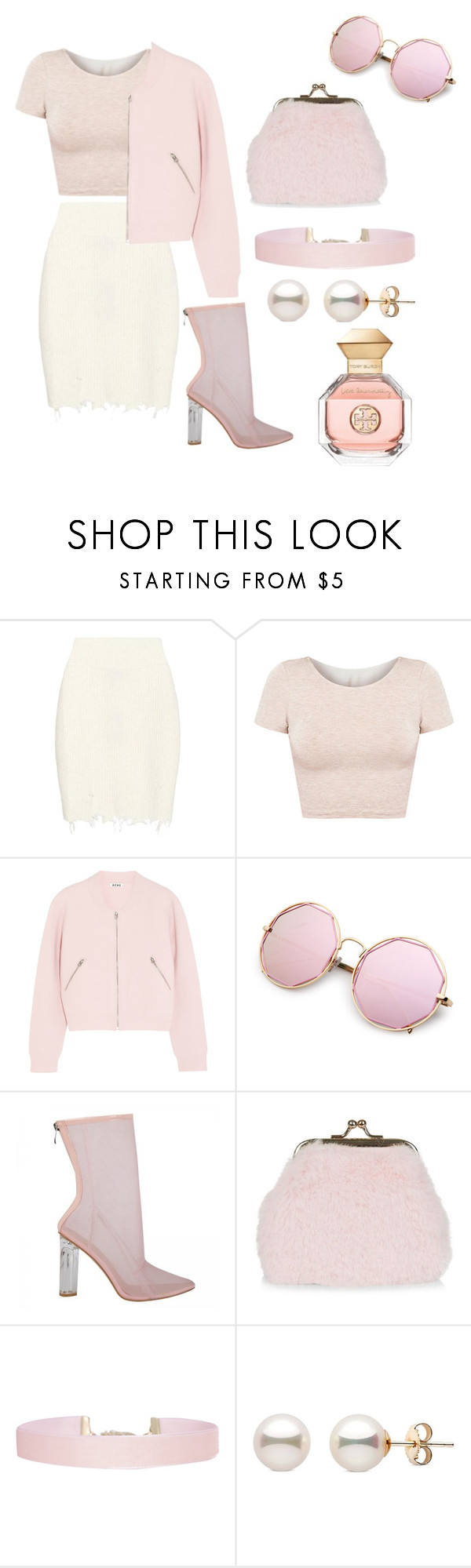 """""""Ms lady"""" by walkeralexzandreia ❤ liked on Polyvore featuring adidas Originals, American Apparel, Acne Studios, New Look, Humble Chic and Tory Burch"""