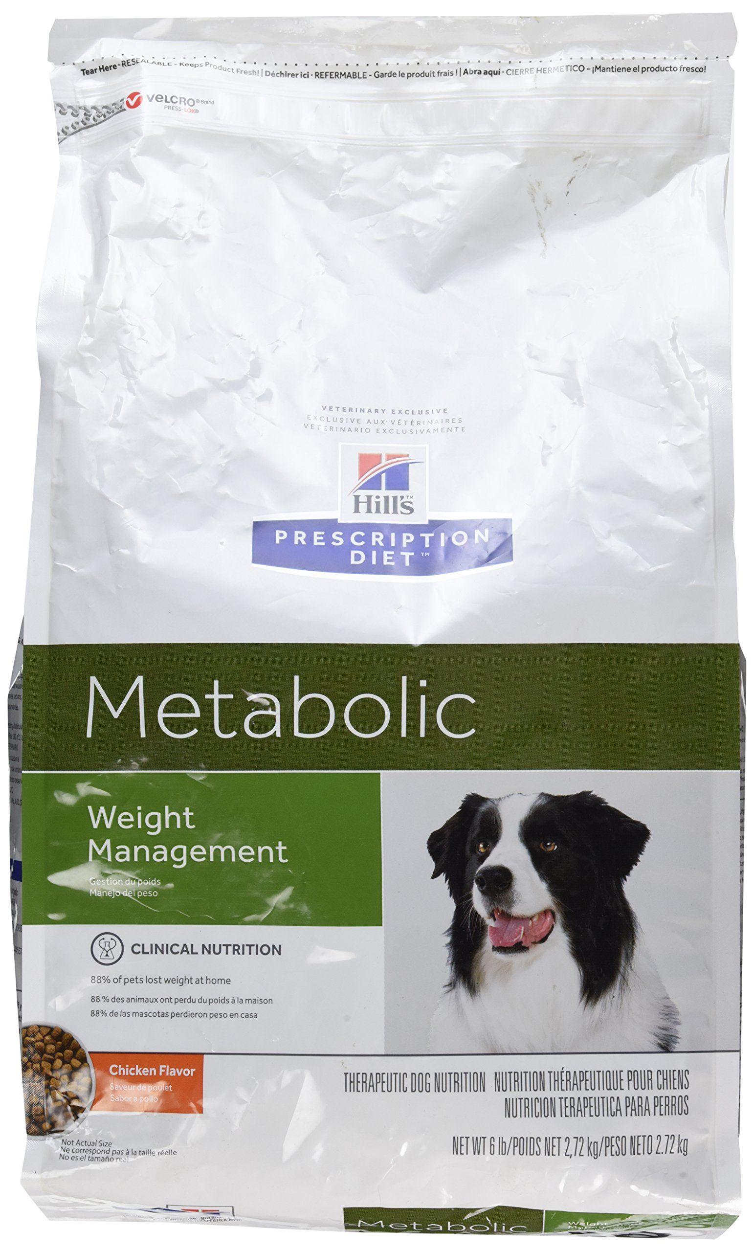 Hills Prescription Diet Metabolic Canine Dry Dog Food 6lb Bag Visit The Image Link More Details This Is An Affiliate Li Dog Food Recipes Dry Dog Food Diet