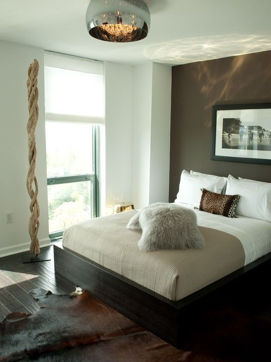 Elegance dark brown paint colors modern bedroom dark Dark brown walls bedroom