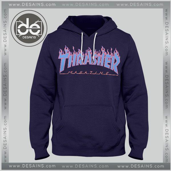 b2e51096fdb0 Buy Hoodies Thrasher Magazine Blue Hoodie Mens Hoodie Womens Adult Unisex    Price   33.00 Gift Custom Tee Shirt Dress     Desains  Tees  Shirt  Dress